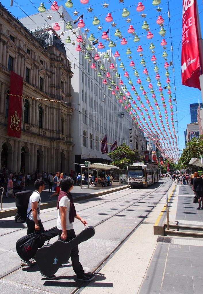 Bourke Street, Melbourne. Photo: Marleena Forward