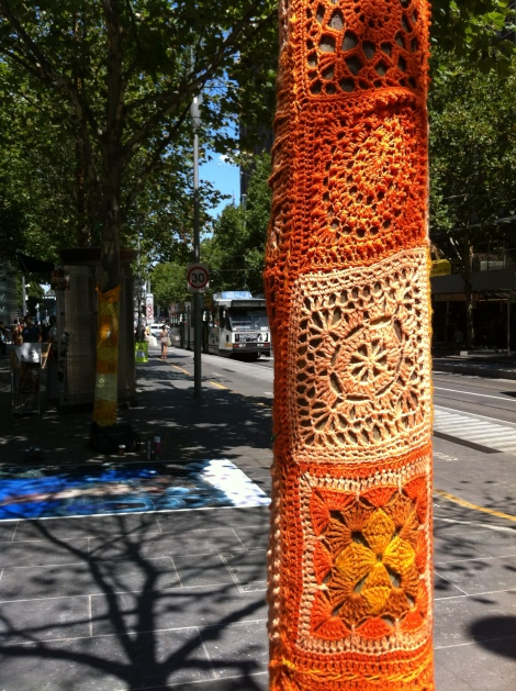 The Melbourne Local_Yarn bomb #5