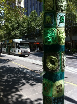 The Melbourne Local_Yarn bomb #2
