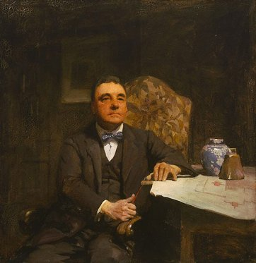 'Desbrowe Annear' by William Beckwith McInnes. Winner of the very first Archibald prize, held in 1921.