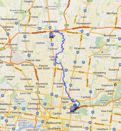 Merri Creek Trail map_The Melbourne Local