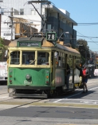 Old Melbourne tram