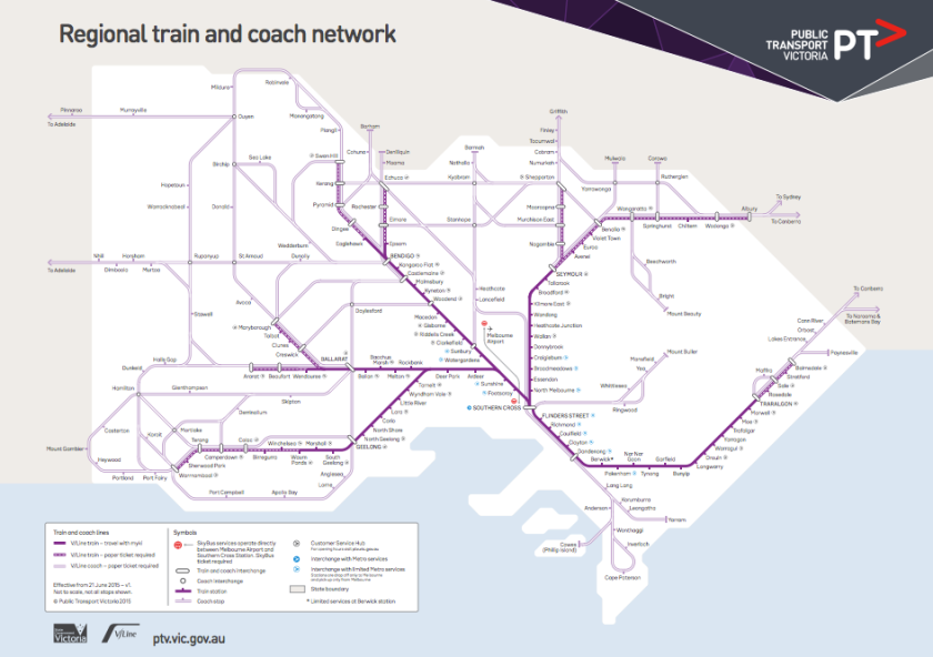 V/Line map_The Melbourne Local